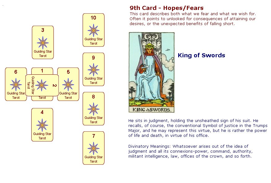 Guiding Star Tarot screenshots - Guiding Star Tarot screen capture ...